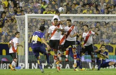 Brilliant free-kick by Riquelme can't prevent Boca from losing El Superclásico