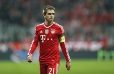 Silencing of Lahm key to United's slim chance of success