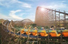 Here's an artist's impression of Ireland's massive new roller coaster