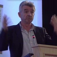 """O'Leary says sorry for """"making love to the Queen"""" joke"""