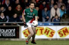 Mayo's Ger Cafferkey nearly scored an 'own point' in Croke Park