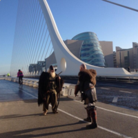 Mysterious Vikings are taking over the streets of Dublin
