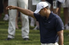 Woods to fall out of top 10 in world rankings