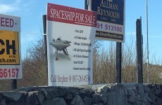 So there's a spaceship for sale in Galway...