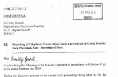Here's Martin Callinan's 10 March letter to Alan Shatter....
