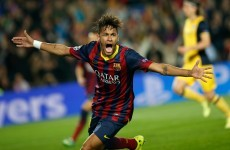 Neymar gives Barca hope against dogged Atletico