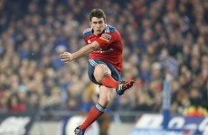 Munster's Keatley enthusiastic about facing Toulouse's 70% back three threat
