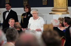 "Simple pleasures - Queen to President: ""I like this clinking glass"""