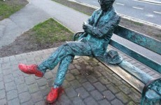 Patrick Kavanagh statue restored after vandals' dodgy paint job