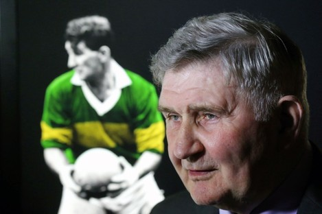 Mick O'Dwyer pictured at the GAA Museum this morning.