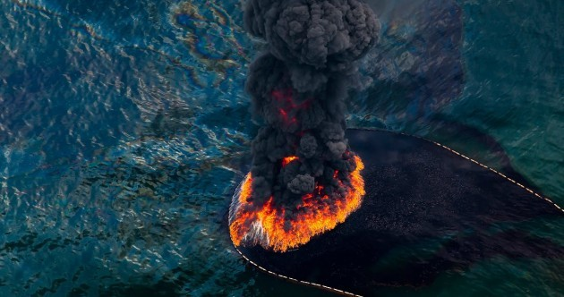 Incredible photos of the 2010 Deepwater Horizon oil spill