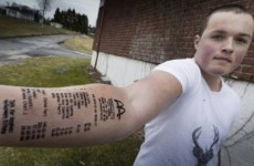 Teenager who got tattoo of McDonald's receipt gets ANOTHER ONE