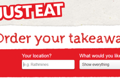 Just eat was launched in Ireland in 2008
