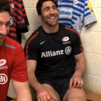 Irish rugby fans so vocal 'because they're normally drunk' jokes Saracens' Kelly Brown