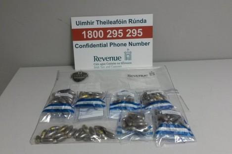 133 pellets of cannabis resin retrieved from inside Spanish national.