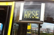 The 'Arse' bus route is now serving Blanchardstown