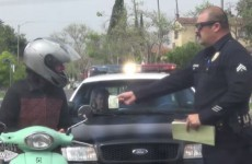 US cops pull over good drivers to reward them in 'positive prank'