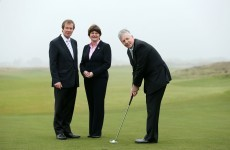 You wait forever for an Irish Open in Northern Ireland - and then three come along together