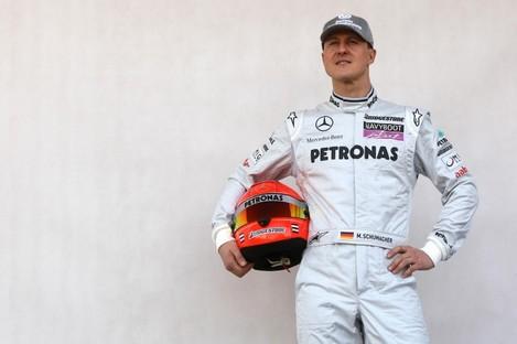Schumacher: former F1 world champion was seriously injured in ski accident.