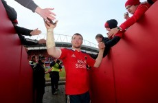 O'Mahony recovers from hamstring issue to captain Munster against Toulouse