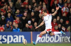 Ulster boost as Pienaar fit to face Saracens