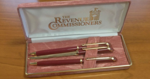 Why are Revenue handing out these snazzy pens?