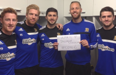 Everton and Hull's Irish boys and Robbie Keane all get behind the Girls in Green