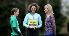 SNAPSHOT: Irish cross country legends Britton, O'Sullivan and McKiernan catch up
