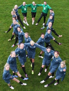 Ireland lacing up for breast cancer ahead of crunch World Cup qualifier with the Germans