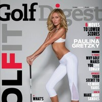 Paulina Gretzky's Golf Digest cover slammed by the women's golf world