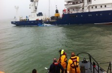 Two sailors rescued from their fast-sinking yacht off Wicklow coast