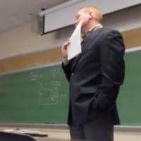 Student pulls brilliant pregnancy phone call prank on teacher