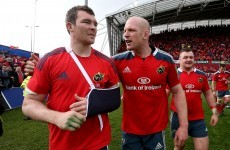 O'Mahony undergoes scan as Munster confirm broken hand for Laulala