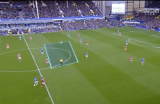 VIDEO: Gary Neville brilliantly highlights Arsenal's flaws against Everton