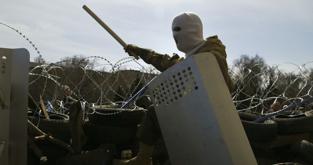 Ukraine could 'unleash civil war' if it steps in against militants in eastern cities