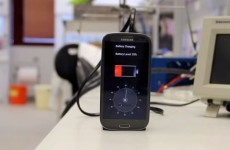 This device can fully charge a smartphone in 30 seconds