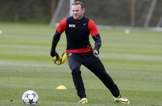 Man United boosted as fit-again Rooney returns to training ahead of Munich trip