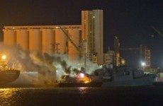 NATO forces strike Libyan ports in attack on Gaddafi's navy
