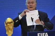 Sepp Blatter doesn't rule out switching 2022 World Cup from Qatar