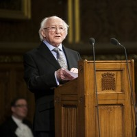 'A closeness and warmth that once seemed unachieveble': Higgins' address to Westminster