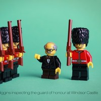 President Higgins' historic State Visit, re-imagined in Lego