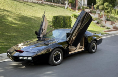 David Hasselhoff is selling his Knight Rider KITT car