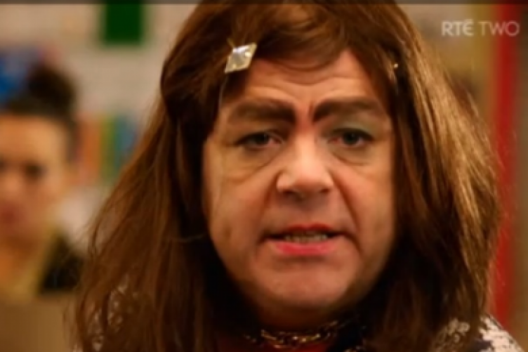 Transgender character, Nuala Mooney, played by Aprés Match's Gary Cooke