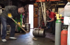 Beer keg curling is Ireland's oddest new sport