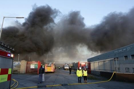 Ballymount Fire in January 2014