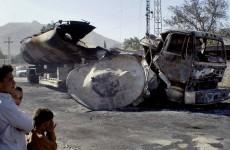 NATO oil tanker explosion kills 15 in northwestern Pakistan