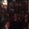 American choir girls sing haunting version of The Parting Glass in Derry bar