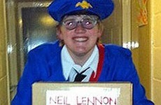 Student arrested after dressing as Postman Pat and addressing a package to Celtic boss