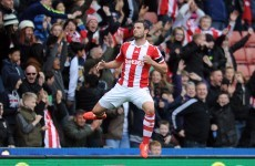 Was Erik Pieters' first Stoke goal a great strike or an overhit cross?