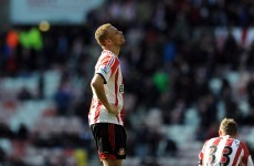 Wes Brown own-goal sees Toffees move up to fourth spot